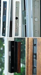 Keyed Patio Door Handle Keyed Patio Door Locks Outside User Submitted Photo Of Their Door