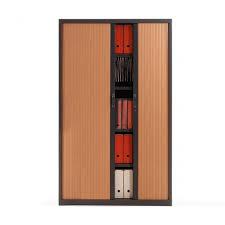 armoire bureau m allique armoire à rideau métallique h198 cm armoire à rideau de bureau