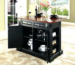 kitchen island cart with drop leaf awe inspiring black kitchen island cart black kitchen island in