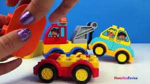 lego duplo my first cars and trucks toys for kids mini mighty