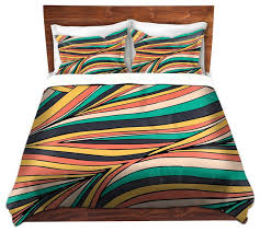 Duvet Covers King Contemporary Dianoche Duvet Covers Twill By Pom Graphic Design Retro Movement