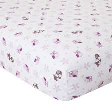Crib Mattress Fitted Sheet Lavender Woods Crib Fitted Sheet Products Pinterest Wood