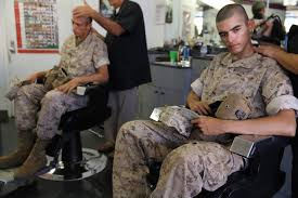 pictures of reg marine corps haircut alpha company recruits uphold marine corps image marine corps