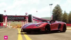 Lamborghini Aventador J Blue - forza horizon cars
