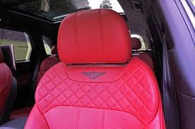 bentley bentayga red interior 2017 bentley bentayga w12 road test review carcostcanada