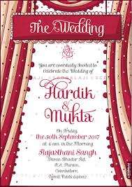 punjabi wedding cards creative indian wedding invitations hindu punjabi