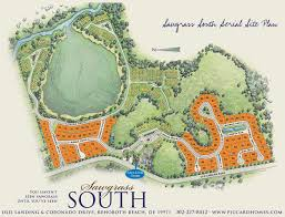 Sawgrass Mills Map Piccard Homes At Sawgrass South New Homes In Rehoboth Beach