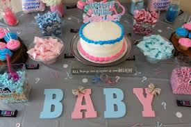 gender reveal party putters or pearls gender reveal party baby barrett is a