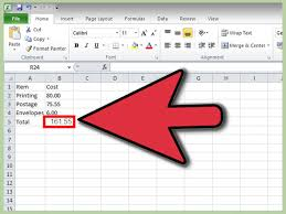 Home Design Show Excel How To Make A Spreadsheet In Excel 14 Steps With Pictures