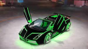 Lamborghini Aventador Neon - midnight club los angeles tron legacy lamborghini gallardo