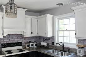 beautiful gray brick backsplash winsome white grey veneer tile
