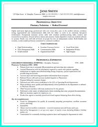Pharmacy Technician Resume Objective Sample by Pharmacy Technician Resume Free Resume Example And Writing Download