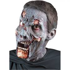 zombie foam latex makeup prosthetic appliance theatrical makeup