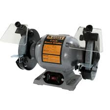 black bull 120 volt 6 in heavy duty bench grinder 800319 the