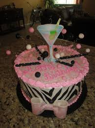 birthday cake martini martini and zebra birthday cake cakecentral com