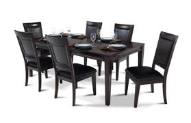 bobs furniture kitchen table set 8 dining room set great matrix 7 dining set dining room