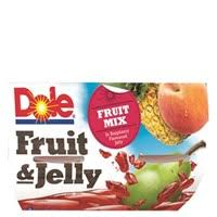 dole fruit snacks buy dole fruit snack fruit mix inraspberry jelly 123g pottles 4pk