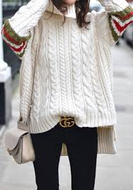 high sweaters white irregular high low side split high neck fashion wool