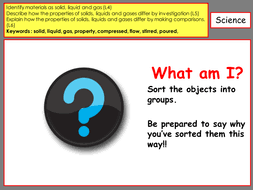 ks3 properties of solids liquids and gases by scienceatossma