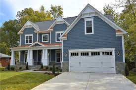 home building faqs how much side yard do i need for a side load but when we built this chesterbrook craftsman model in falls church recently the lot was too narrow to retain the side load garage