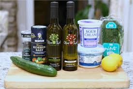 olive this u2013 recipe tzatziki with champagne wine vinegar and