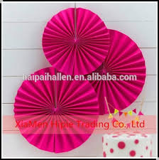 paper fan backdrop diy party decorpink paper fan backdrop paper rosette kids birthday