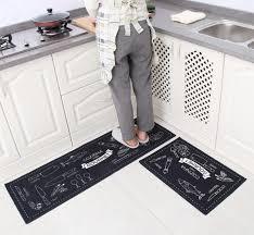 Modern Kitchen Rug 2pcs Modern Kitchen Rug Anti Slip Hallway Balcony Mat Free