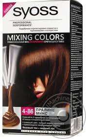 color syoss colors praline for hair slovenia hygiene hair