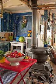 49 colorful boho chic kitchen designs digsdigs