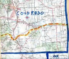 Map Of Eastern Colorado by The Hikanation Route