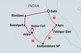 Blank Map Of Delhi by India Tours U0026 Travel Intrepid Travel Us