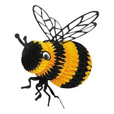 bumblebee decorations tissue bumblebee decoration m n party store