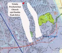 Trinity Florida Map by Map U2013 Trinity Presbyterian Church