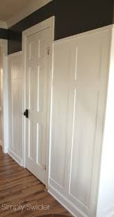 how to to transform a foyer with board and batten wainscoting