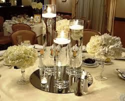 floating candle centerpiece winter wonderland events pinterest