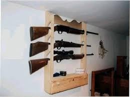 Pine Gun Cabinet Hand Crafted 3 Gun Lockable Gun Display Rack By Larue Woodworking