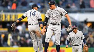Aaron Judge Made His Mlb Debut In Center Field - aaron judge starting in center field saturday after yankees early