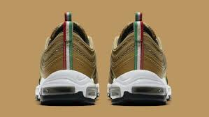 Italy Flag Images Nike Air Max 97 Italy Flag Gold Release Date Aj8056 700 Sole