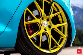 volkswagen gti wheels volkswagen gti mk7 vfs 6 custom gold vossen wheels 2016