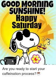Good Morning Sunshine Meme - good morning sunshine happy saturday are you ready to start your