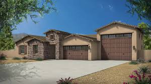 Home Plans With Rv Garage by Parker With Rv Garage Plan 5031 Estates At The Meadows Maracay Homes