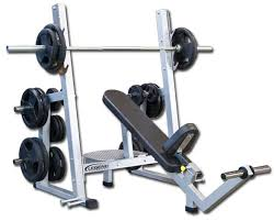 Weight Bench Olympic Pro Series Olympic Incline Bench Press W Band Pegs Legend