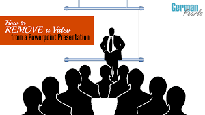 remove a from a powerpoint presentation german pearls
