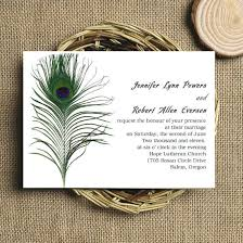 peacock wedding invitations simple classic peacock wedding invitations ewi094 as low as 0 94