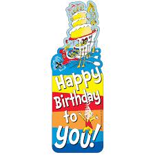 happy birthday dr seuss dr seuss happy birthday bookmarks for kids eureka school