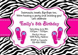 birthday party invitation templates u2013 gangcraft net