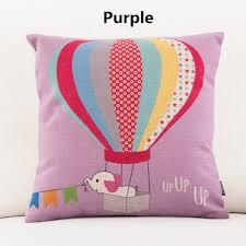 gro e kissen f r sofa air balloon pillow design decorative pillows for