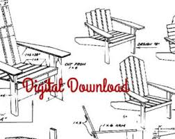 Adirondack Deck Chair Outdoor Wood Plans Download by Folding Adirondack Chair Plans
