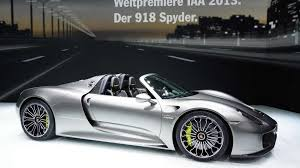 porsche electric 918 porsche updates 918 spyder performance figures 0 60 mph in 2 5s