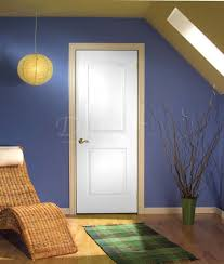 Primed Interior Doors 2 Panel Arch Caiman 6 8 Darpet Doors Windows And Trims For